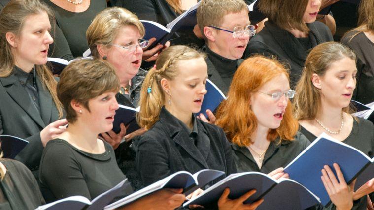 Sängerinnen des TUM-Chors
