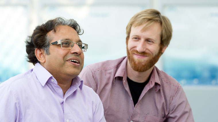 """Programm """"Mentoring for Scientists"""": Mentor und Mentee im Gespräch"""