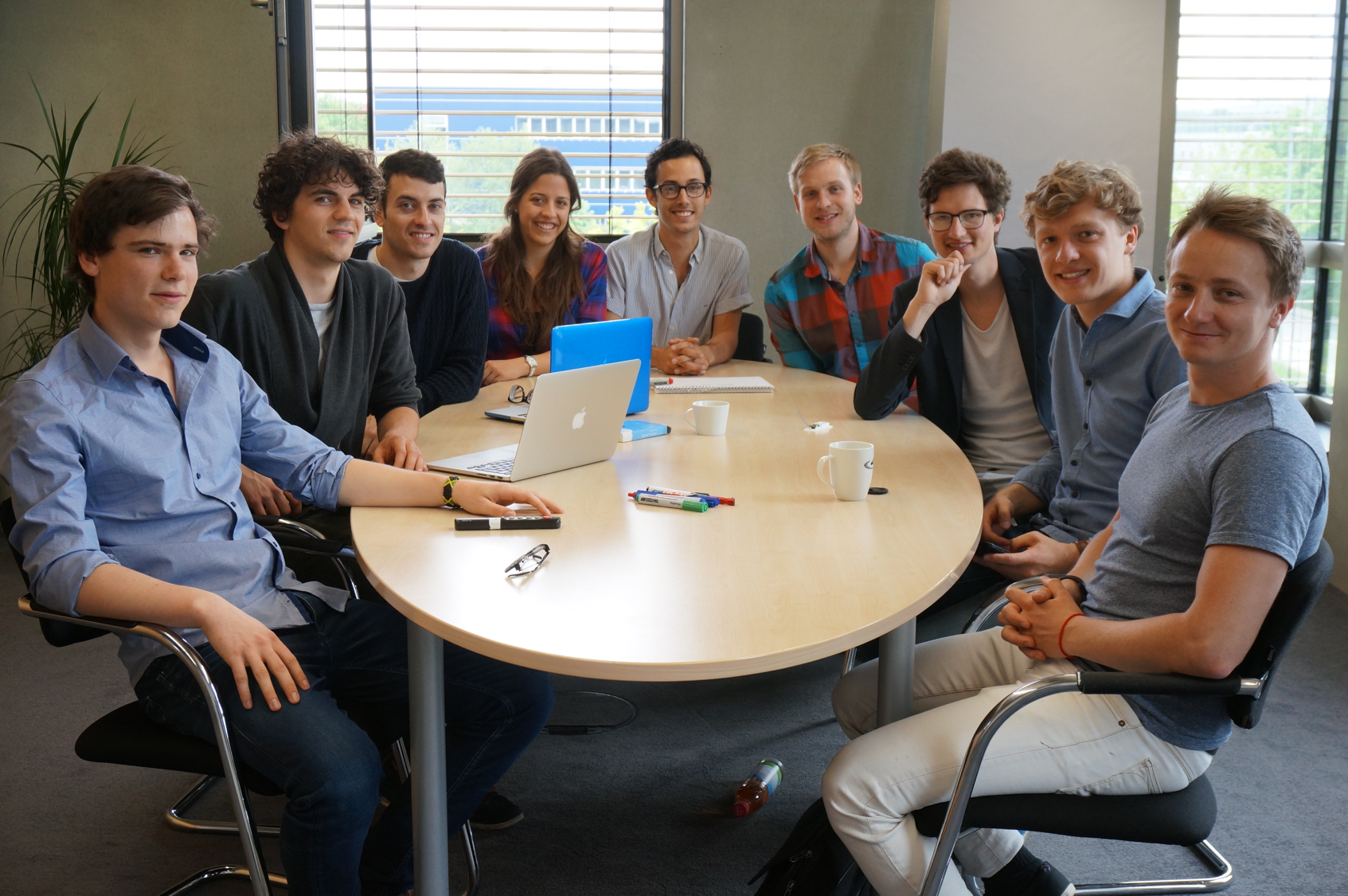 The founding team of ParkHere