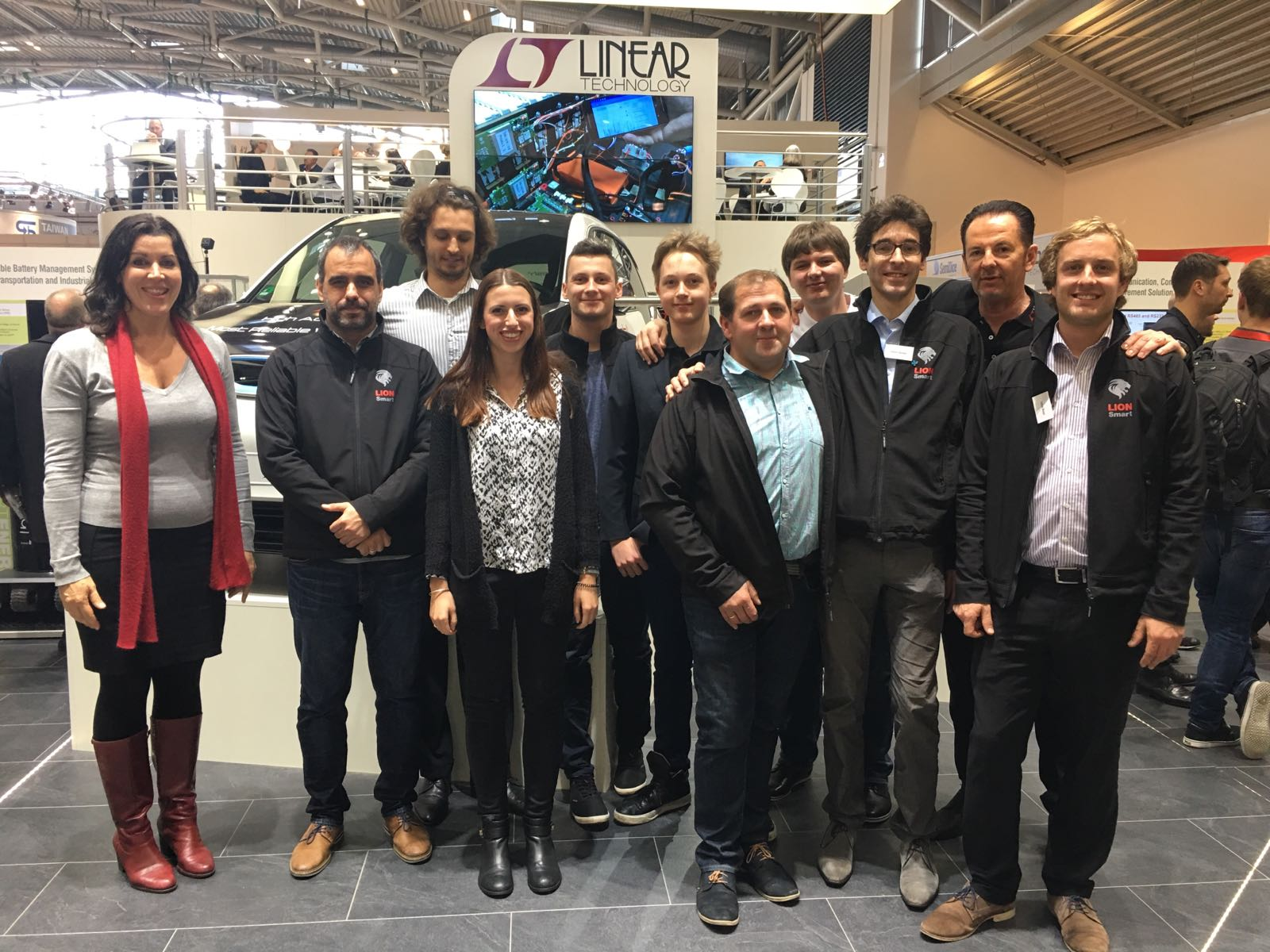 The team of Lion Smart GmbH