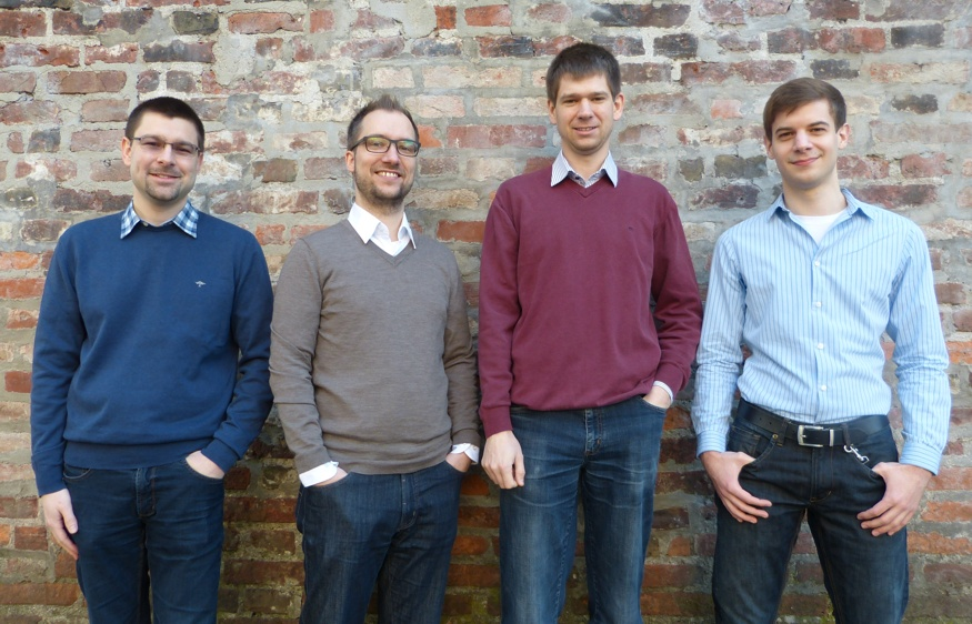 The founding team of Dynamic Components