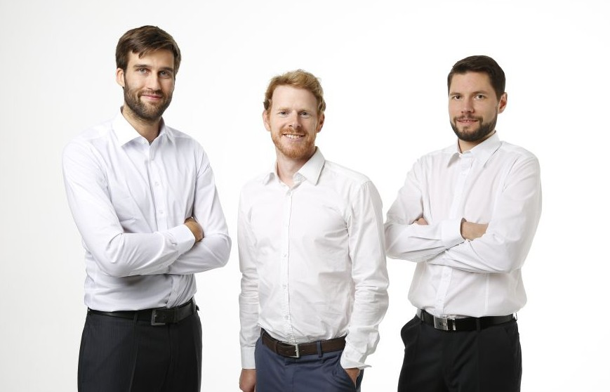 The founding team of Bitflux