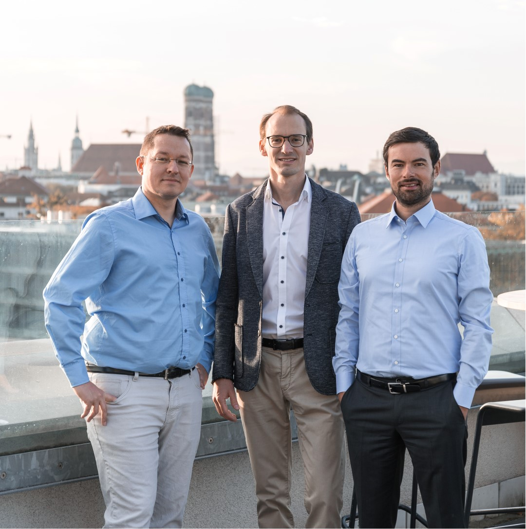 The founding team of Blickfeld