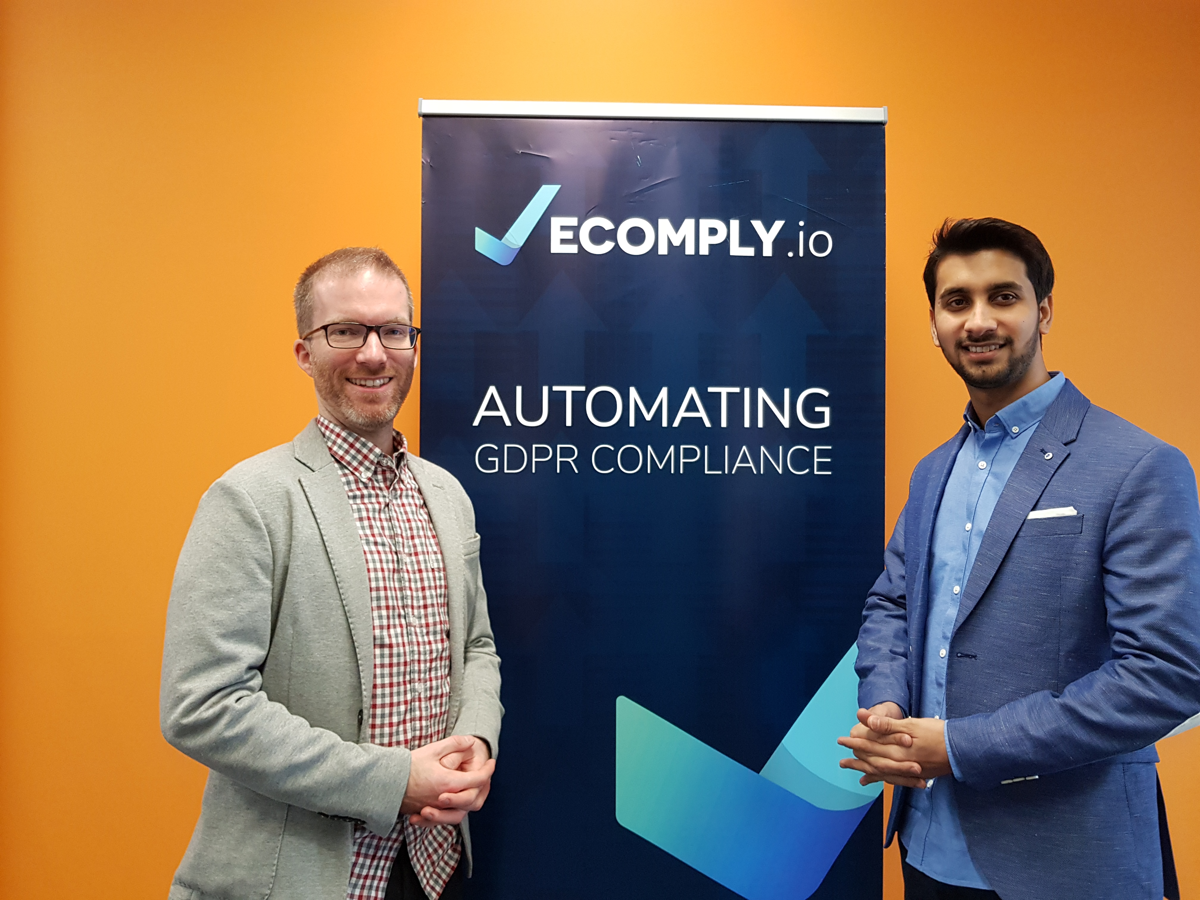 The founding team of ecomply